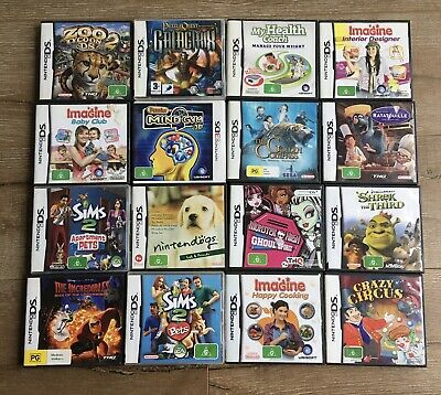 AU50 • Buy 16 X Nintendo DS Games Bulk Bundle Tested And All Work