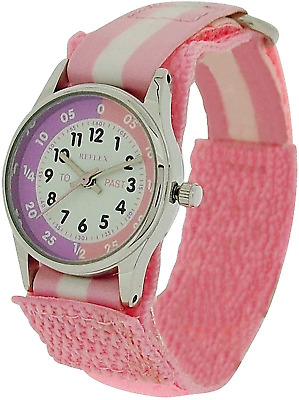£11.64 • Buy Girl Pink Watch Time Teacher Learn How To Tell The Time Tutor Kid Children New