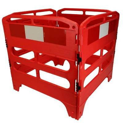£114.99 • Buy Road Traffic Safety Utility Street Barrier Kit 750mm & 1000mm Chapter 8 Red