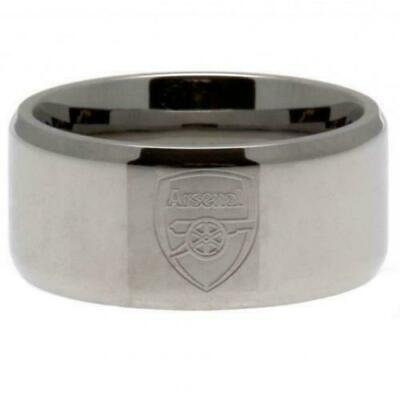 £15 • Buy Arsenal FC Stainless Steel Band Ring Size U