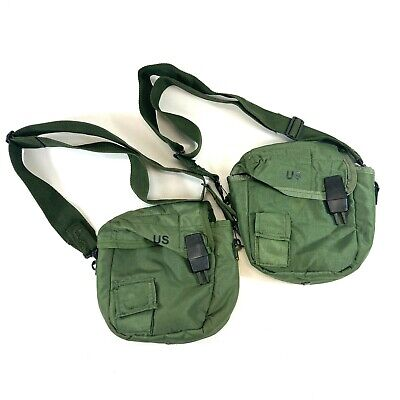 $ CDN31.28 • Buy 2 Military 2 Quart Canteen Pouches, ALICE 2qt Insulated Pouch, Olive Drab OD