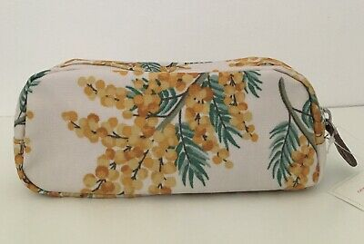 Cath Kidston Mimosa Flower Pencil Case With Pocket • 9.99£