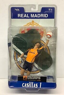 Iker Casillas FT Champs Real Madrid Action Football Figure • 34.99£