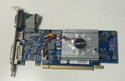 £9.99 • Buy PNY Nvidia GeForce Graphics Accelerator 3D 8400GS 512MB DDR2 PCI Express HDMI
