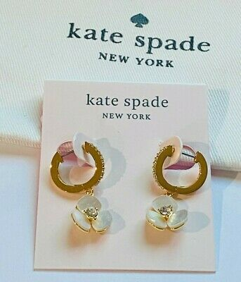 $ CDN23.80 • Buy KATE SPADE CLASSIC Zircon STUD EARRINGS Gold