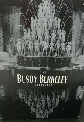 £18.18 • Buy The Busby Berkeley Collection 6-DVD Box Set Classic Stage Dance Musical Film