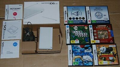AU95 • Buy Nintendo DS Lite White   Console Boxed  + 6 X DS  Games