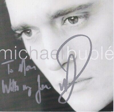 £35.39 • Buy Michael Buble Signed Cd
