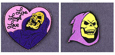 $3.43 • Buy HE-MAN & The MASTERS Of UNIVERSE PATCH Skeletor 80s ANIMATION Comic CARTOON Fun