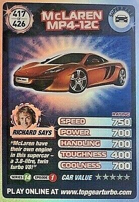 £2 • Buy Top Gear Turbo Challenge Extra Cards - Rare & Super Rare # 391-425 - Pick