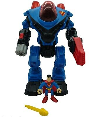 Fisher-Price Imaginext DC Super Friends Superman And Exoskeleton Suit • 19.99£