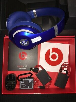 Beats By Dre Studio 2.0 Wired Over-Ear Headphone Resale Open Box W/ Audio Cable • 50.06£