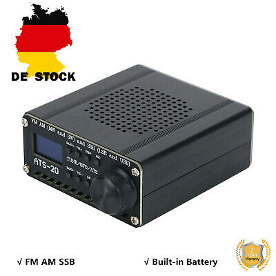 SI4735 All Band Radio Receiver FM AM (MW SW) SSB (LSB USB) W/ Shell Antenna • 46.94£