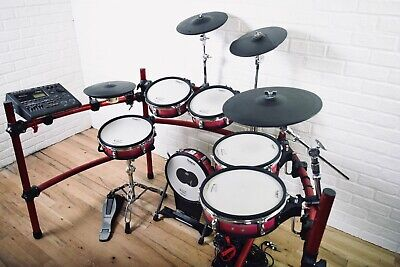 AU2446.05 • Buy Roland TD-10 TDW-1 Electronic Drumset Expanded In Excellent Condition