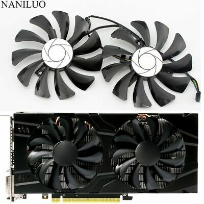 AU27.39 • Buy Cooler Fans For MSI GeForce GTX1060 1060-6GT-OC INNO3D 6GB Video Graphics Card