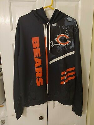 $29.99 • Buy NFL Chicago Bears Hoodie Mens Size XL Brand New