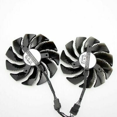 £17.35 • Buy PLD09210S12HH T129215SU Cooler Fan For Gigabyte GeForce GTX1070 1070Ti RX570 580