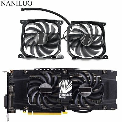 $ CDN45.18 • Buy CF-12915S Card Cooler Fan For INNO3D GeForce GTX 1070 1080 Ti Twin X2 Graphics