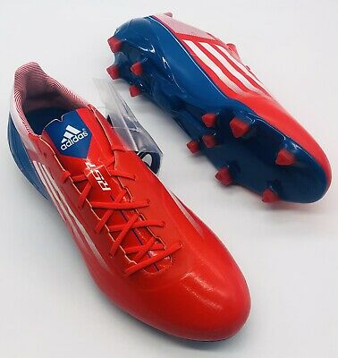AU444.66 • Buy NEW ADIDAS ADIZERO RS7 / F50 FOOTBALL RUGBY BOOTS FG UK Size 9 Not Predator