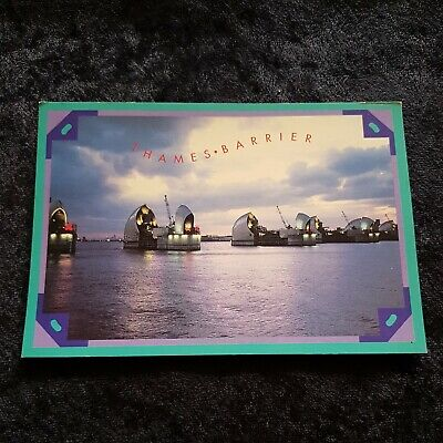 £0.99 • Buy Collectible Postcard Of The Thames Barrier At Charlton London
