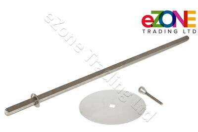 £33.99 • Buy Doner Kebab Shawarma Machine Skewer Spit-Disc 250mm-Pin, Archway Stainless Steel