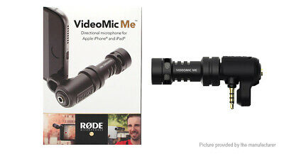 Rode VideoMic Me Mini Microphone Directional Compact IOS Android - NEW SEALED • 33.24£