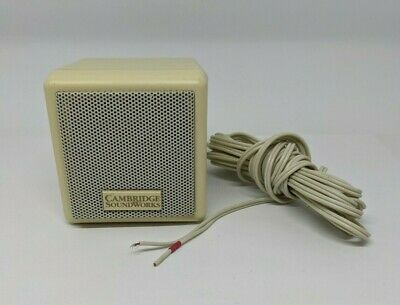Cambridge Soundworks PC Works Single Replacement Speaker White Untested • 9.39£