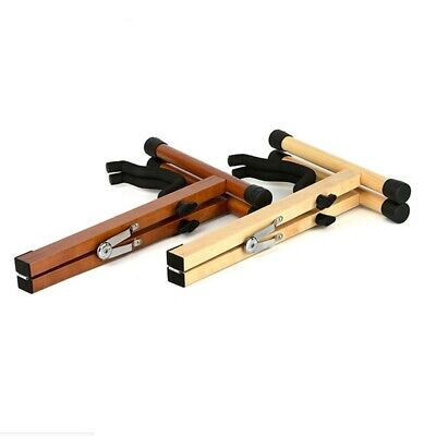 $ CDN33.69 • Buy Wooden Guitar Stand For Acoustic Guitar Folding Portable A-Frame Travel Outdoor