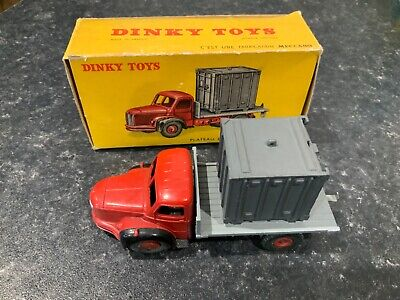 £69.95 • Buy French Dinky Toys 34b Plateau Berliet Avec Container Boxed