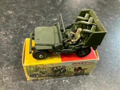 £69.95 • Buy French Dinky Toys 828 Jeep Porte-Fusees Military Boxed