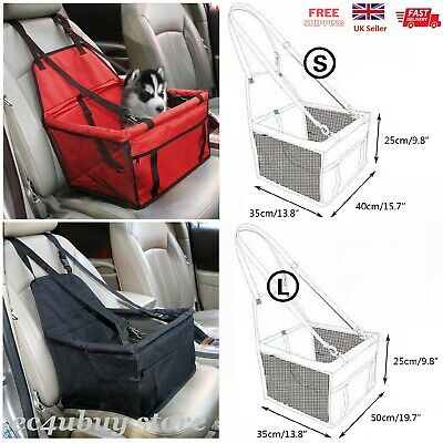 £13.99 • Buy 2 In 1 Dog Car Safety Seat Cover Waterproof Pet Puppy Travel Carrier Protector