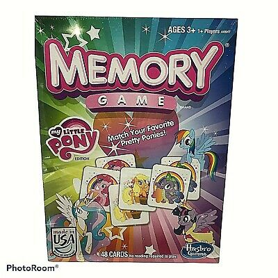 Hasbro My Little Pony Memory Card Game - 48 Cards 333 • 11.43£