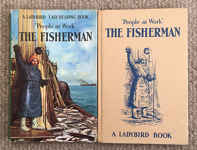 Vintage Ladybird 'People At Work' The Fisherman Book Series 606B 1st Edition DJ. • 12.50£
