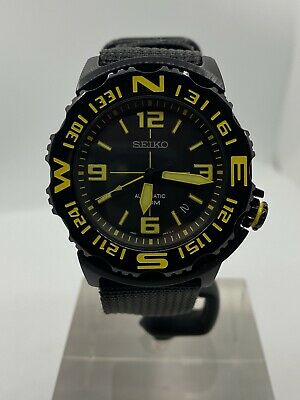 $ CDN189.85 • Buy Seiko Diver Dive Automatic SRP449K1 SRP449 4R35 Watch Monster Case Blacked Out