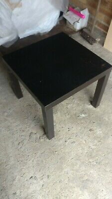 1 Side Table End Display Coffee 55cm Square Small  Table IKEA LACK  COLLECT SW19 • 4.99£