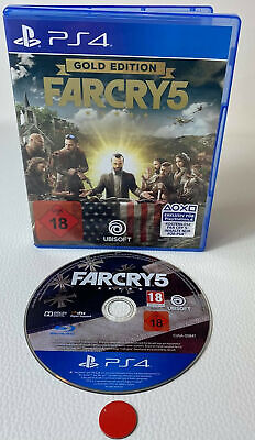 AU44.34 • Buy Farcry 5 Gold Edition   Playstation 4   PS4   Gebraucht In OVP