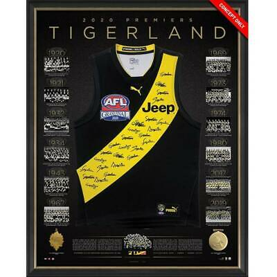 AU2495 • Buy Richmond 2020 Premiers Team Signed Guernsey – Deluxe
