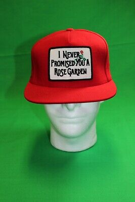 $ CDN316.41 • Buy Supreme New York I Never Promised You A Rose Garden Red Hat Snapback SS15 New!