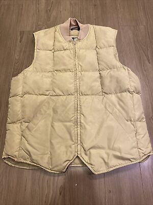 $36.90 • Buy VINTAGE Eddie Bauer Goose Down Quilted Puffer Vest Small