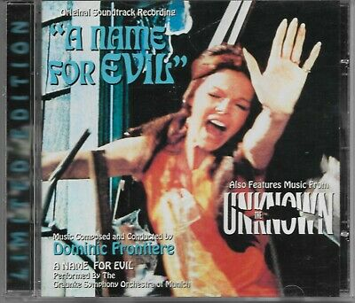 Dominic Frontiere -A NAME FOR EVIL/THE UNKNOWN- Limited Edition La-La Land CD • 16.44£