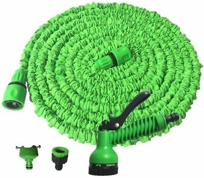 Expandable Garden Hose Pipe Flexible Function Water Magic Watering Garden Shower • 19.95£