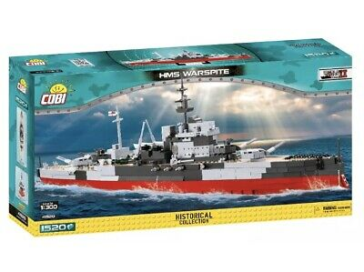 £89.99 • Buy Construction Toys British Battleship Hms Warspite Building Bricks COBI4820