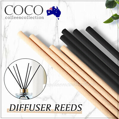 AU3.75 • Buy Premium Reeds Fiber Sticks Aromatherapy Diffusers For Home Spa Office Bulk Pack