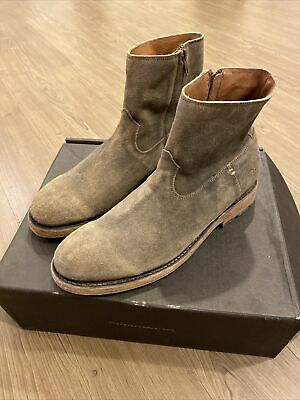 $199 • Buy Frye NIB Mens Bowery Faded Black Ankle Boots Size 9.5 D