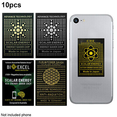 Negative Ion Anti Radiation Protector Shield EMF Protection Cell Phone Sticker • 6.83£