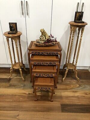 AU456 • Buy Chinese Rosewood Nesting Tables*4