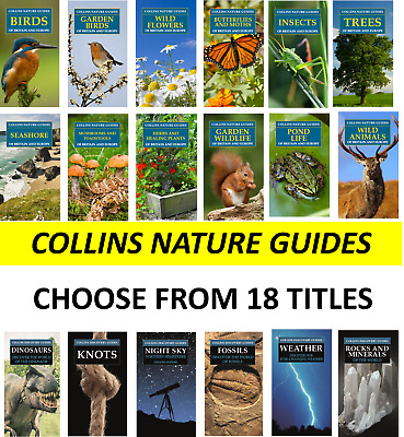 £5.99 • Buy Collins Nature Guides 18 Assorted Titles Great Nature & Wildlife Books