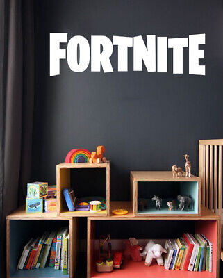 £5.99 • Buy Fort Decals Nite Name Wall Stickers PS4 Xbox Vinyl Gamers Wall Art Decals KidsF6