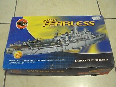 £59.99 • Buy 1/600 Airfix HMS Fearless - Part Started - Spares Or Repair ?