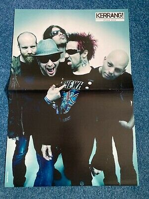 £2.99 • Buy Stone Sour/Bullet For My Valentine Double Sided Centerfold Poster - Kerrang!